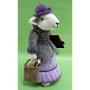 Beattie Herdvyck knitted toy