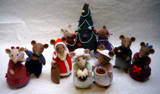 Dickensian Party Mice