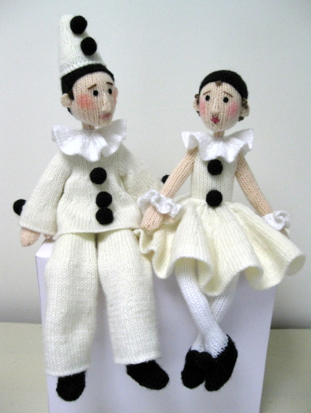 Pierrot and Pierrette