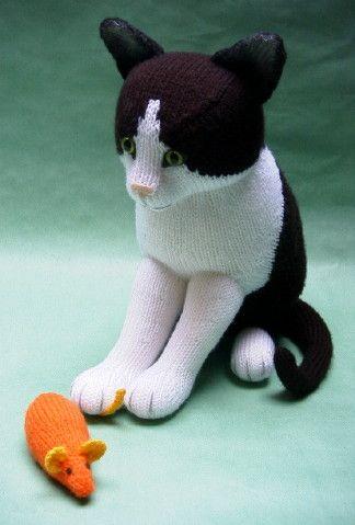 Knitting Patterns Toys Alan Dart : Black & White - Alan Dart Alan Dart