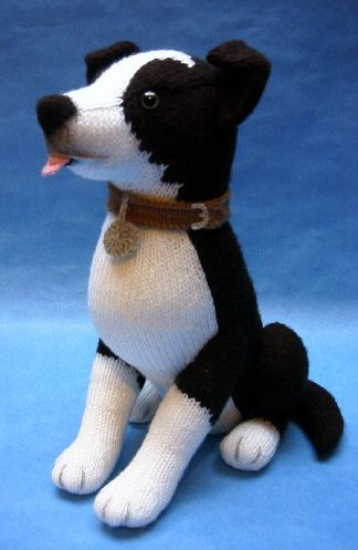 Knitting Pattern For Border Collie Dog : Border Collie - Alan Dart Alan Dart
