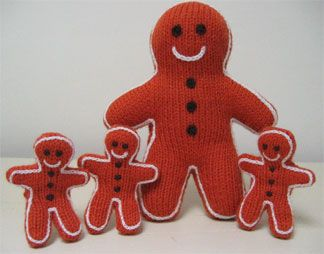 Gingerbread Men Puppets