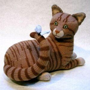 Knitting Patterns Toys Alan Dart : Tabby - Alan Dart