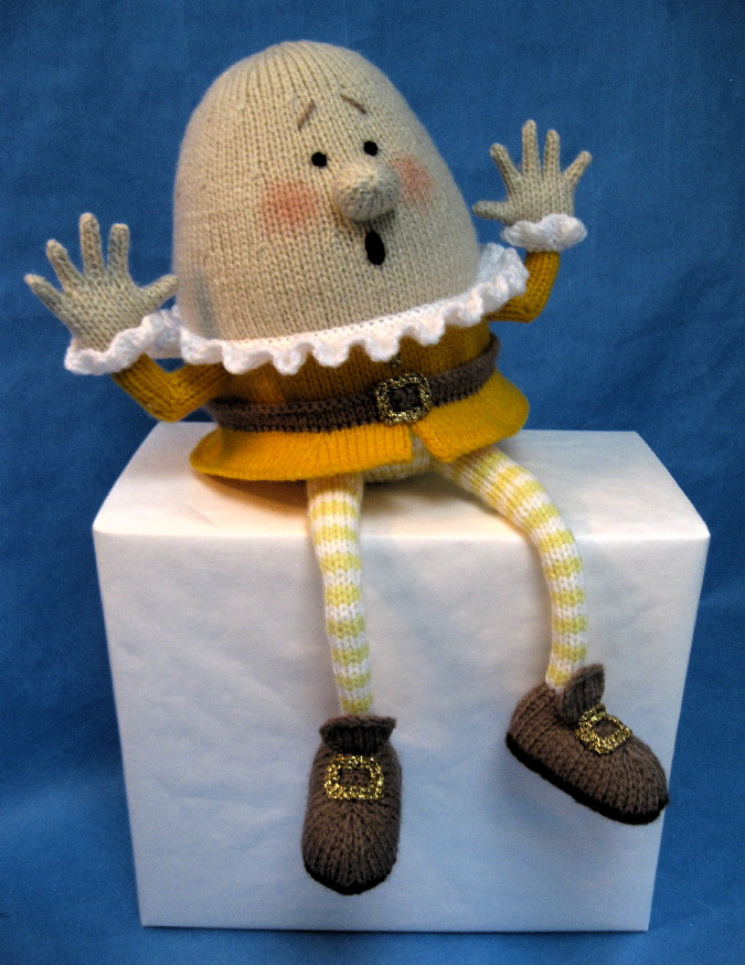 Knitting Pattern For Humpty Dumpty : Humpty Dumpty - Alan Dart Alan Dart