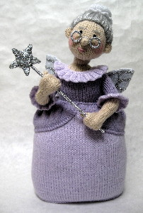 Yours Magazine Knitting Patterns : Fairy Godmother - Alan Dart Alan Dart