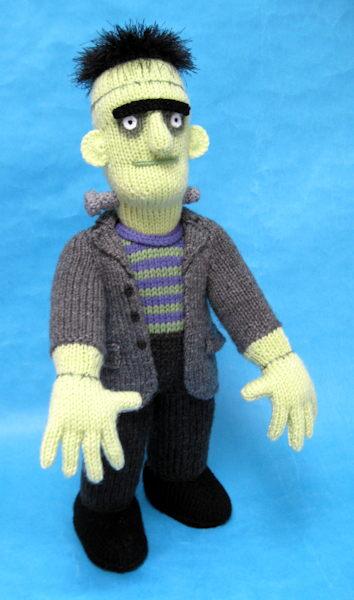 Horrid Hulk Toy Knitting Pattern Alan Dart Alan Dart