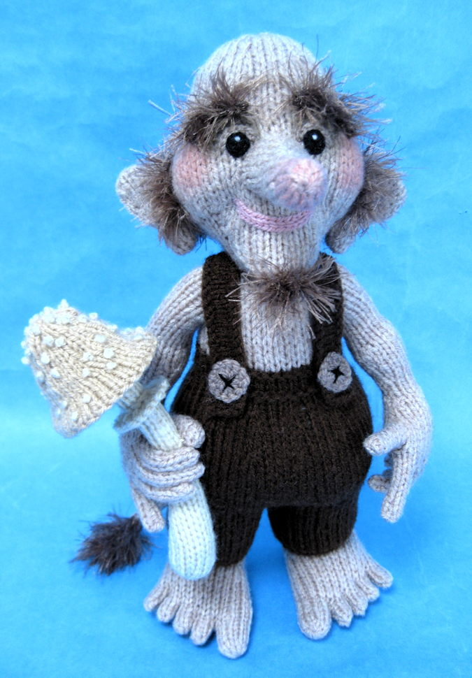 Free Pattern For Knitted Leg Warmers : Woodland Troll - Alan Dart Alan Dart