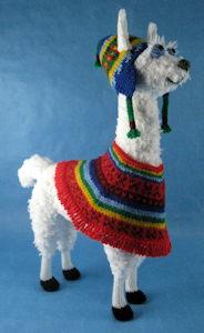 Peruvian Llama - Alan Dart Alan Dart