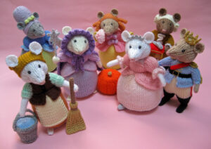Cinderella Pantomice Part One knitted toys