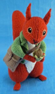 Filbert Cobbins knitted toy