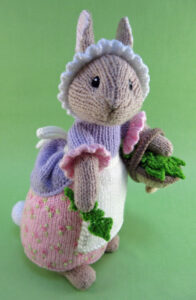 Lettice Burroughs knitted toy