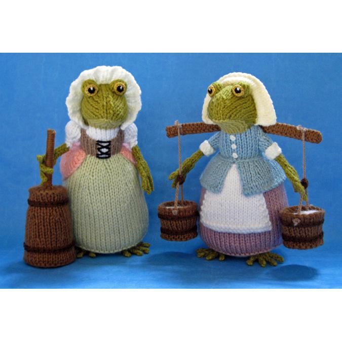 Poppy & Daisy Croaker**